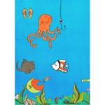 fish card - Greeting Card 5  x 7