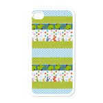 stripe fish - Apple iPhone 4 Case (White)