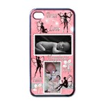 4 Stina-Cheer Up! - Apple iPhone 4 Case (Black)