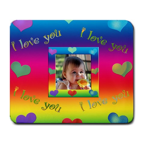 Allaboutlove Mousepad1 By Kdesigns   Large Mousepad   Ohct24sk3jy7   Www Artscow Com Front