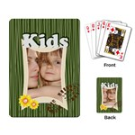 happy kids  - Playing Cards Single Design