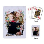 Pattern of kids  - Playing Cards Single Design