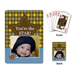 Playing Cards Single Design - You re the Star!