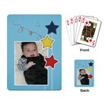 Playing Cards Single Design - Stars2