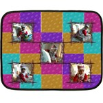 Hearts blanket - Fleece Blanket (Mini)