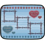 Endless Love blanket - Fleece Blanket (Mini)