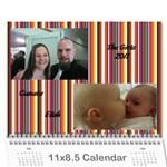 Calender 2011 - Wall Calendar 11  x 8.5  (12-Months)
