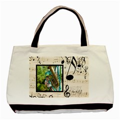 Must Be The Music Tote Bag By Catvinnat   Basic Tote Bag (two Sides)   Mu25a02qq0f9   Www Artscow Com Front