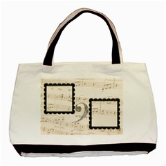 Must Be The Music Tote Bag By Catvinnat   Basic Tote Bag (two Sides)   Mu25a02qq0f9   Www Artscow Com Back