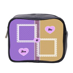 You & Me Toiletries Bag By Daniela   Mini Toiletries Bag (two Sides)   Q06796v5e4za   Www Artscow Com Front