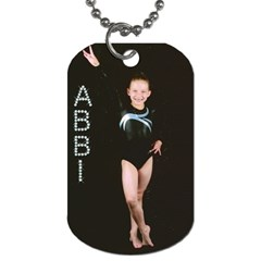 Abbi s Dog Tag By Cindy Ward Nielsen   Dog Tag (two Sides)   G6nzpx6kd045   Www Artscow Com Front