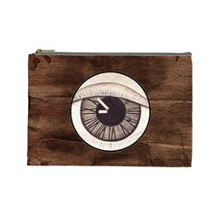 Eye Bag By Debra Macv   Cosmetic Bag (large)   2t1ka504fio0   Www Artscow Com Front
