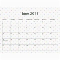 2011 Calendar By Tammy   Wall Calendar 11  X 8 5  (12 Months)   2v83081owcuv   Www Artscow Com Jun 2011