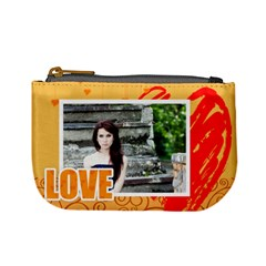 I Love You By Joely   Mini Coin Purse   O441zeipicwp   Www Artscow Com Front