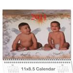 CALENDARIO SARITA - Wall Calendar 11  x 8.5  (12-Months)