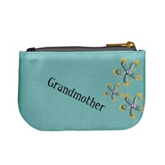 Grandmother By Lorie Kilgore   Mini Coin Purse   2v1u3h13ad93   Www Artscow Com Back