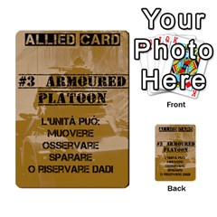Iasbm Allied By Abikapi2   Multi Purpose Cards (rectangle)   4umflxo5uh53   Www Artscow Com Front 9