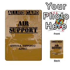 Iasbm Allied By Abikapi2   Multi Purpose Cards (rectangle)   4umflxo5uh53   Www Artscow Com Front 14