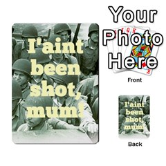 Iasbm Allied By Abikapi2   Multi Purpose Cards (rectangle)   4umflxo5uh53   Www Artscow Com Back 30