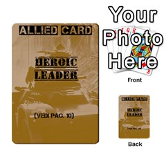 Iasbm Allied By Abikapi2   Multi Purpose Cards (rectangle)   4umflxo5uh53   Www Artscow Com Front 49