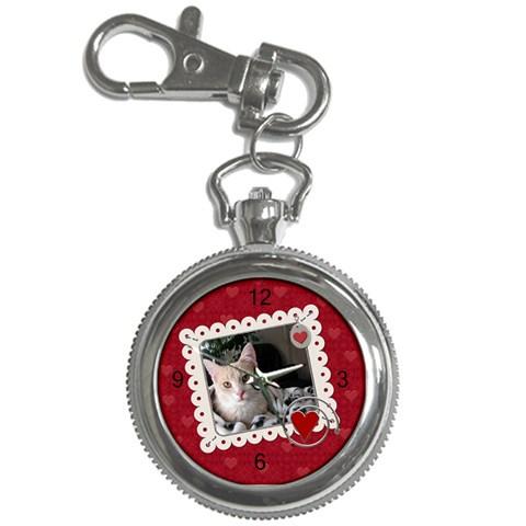 Valentine Key Chain Watch By Lil    Key Chain Watch   Tyfrm24542qg   Www Artscow Com Front