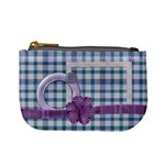 Lavender Rain Coin Bag 2 - Mini Coin Purse