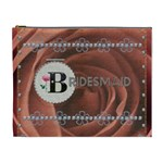 Pretty Bridesmaid XL Cosmetic Bag - Cosmetic Bag (XL)