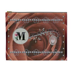 Mother Of The Bride Xl Cosmetic Bag By Lil    Cosmetic Bag (xl)   C00u1rsu1d0b   Www Artscow Com Front