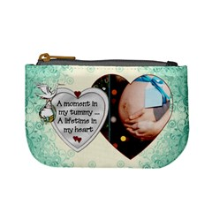 A Moment In My Tummy Mini Coin Purse By Lil    Mini Coin Purse   X6qc8i3hf57d   Www Artscow Com Front