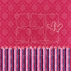 Love Ya Big Qp Set 8 By Mikki   Scrapbook Page 12  X 12    Grd0a3h5bclj   Www Artscow Com 12 x12 Scrapbook Page - 2