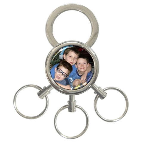 Three Kings   Three Rings By Terrie Wiederich   3 Ring Key Chain   Aof84qnv85sh   Www Artscow Com Front