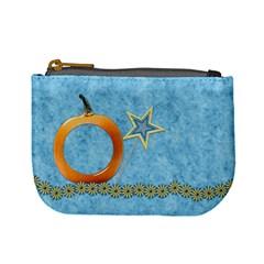 Ella In Blue Coin Bag 1 By Lisa Minor   Mini Coin Purse   Rwgcwku99dhn   Www Artscow Com Front