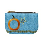 Ella in Blue Coin Bag 1 - Mini Coin Purse