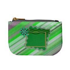 Greeny Coin Purse By Daniela   Mini Coin Purse   Prtrbbvc3vzv   Www Artscow Com Front