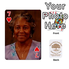 Family Reunion 5 5 By Tomika Holmes   Playing Cards 54 Designs   Iya9scg8s178   Www Artscow Com Front - Heart7