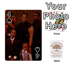 Family Reunion 5 5 By Tomika Holmes   Playing Cards 54 Designs   Iya9scg8s178   Www Artscow Com Front - Spade4
