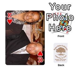 King Family Reunion 5 5 By Tomika Holmes   Playing Cards 54 Designs   Iya9scg8s178   Www Artscow Com Front - HeartK