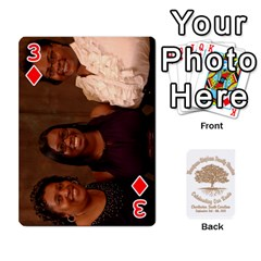 Family Reunion 5 5 By Tomika Holmes   Playing Cards 54 Designs   Iya9scg8s178   Www Artscow Com Front - Diamond3