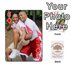 Family Reunion 5 5 By Tomika Holmes   Playing Cards 54 Designs   Iya9scg8s178   Www Artscow Com Front - Diamond6