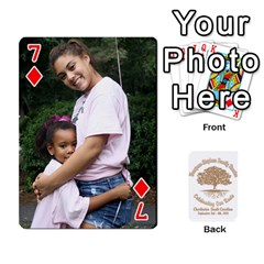 Family Reunion 5 5 By Tomika Holmes   Playing Cards 54 Designs   Iya9scg8s178   Www Artscow Com Front - Diamond7