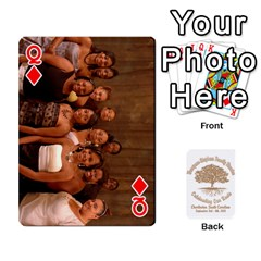 Queen Family Reunion 5 5 By Tomika Holmes   Playing Cards 54 Designs   Iya9scg8s178   Www Artscow Com Front - DiamondQ