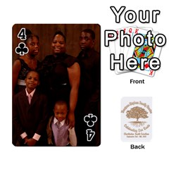 Family Reunion 5 5 By Tomika Holmes   Playing Cards 54 Designs   Iya9scg8s178   Www Artscow Com Front - Club4