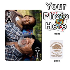 Family Reunion 5 5 By Tomika Holmes   Playing Cards 54 Designs   Iya9scg8s178   Www Artscow Com Front - Club8