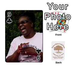 Family Reunion 5 5 By Tomika Holmes   Playing Cards 54 Designs   Iya9scg8s178   Www Artscow Com Front - Club9