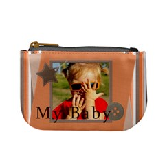 My Baby By Joely   Mini Coin Purse   Wivob1l40clc   Www Artscow Com Front