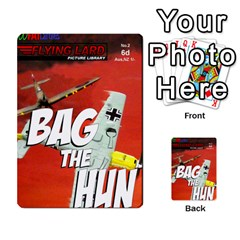 Jimbo s Bag The Hun Cards Set 1 By Jim   Multi Purpose Cards (rectangle)   Okhi2yrtsg12   Www Artscow Com Back 1