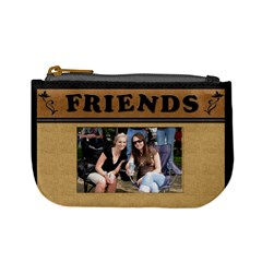 We Are Friends Mini Coin Purse By Lil    Mini Coin Purse   66467luip2cj   Www Artscow Com Front