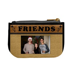 We Are Friends Mini Coin Purse By Lil    Mini Coin Purse   66467luip2cj   Www Artscow Com Back