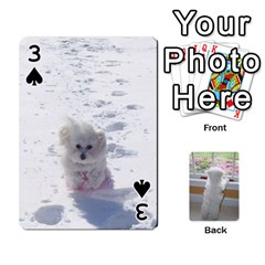 Playing Cards With Snowy s Photos By Xinpei   Playing Cards 54 Designs   Le6lpxwj0c5h   Www Artscow Com Front - Spade3