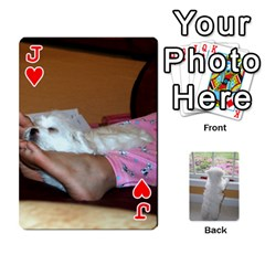 Jack Playing Cards With Snowy s Photos By Xinpei   Playing Cards 54 Designs   Le6lpxwj0c5h   Www Artscow Com Front - HeartJ